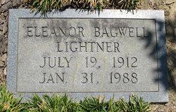 Eleanor <I>Bagwell</I> Lightner
