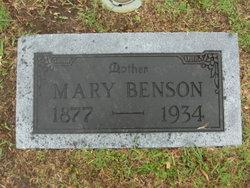 Mary E. <I>Merrell</I> Benson