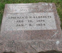 Lorenza C. H. Alderete