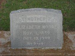 "Jemima Elizabeth ""Lizzie"" <I>Brown</I> Moore"
