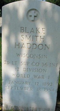 Blake Smith Haddon