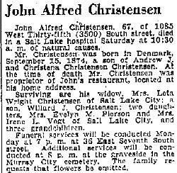 John Alfred Christensen
