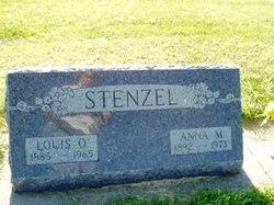 Anna M. <I>Pollard</I> Stenzel