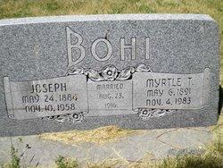 Myrtle <I>Tolman</I> Bohi