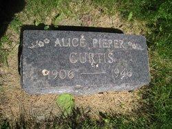 Alice <I>Pieper</I> Curtis