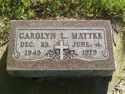 Carolyn Louise <I>Peterson</I> Mattke