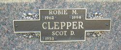 """Robert Mark """"Robie"""" Clepper"""