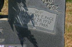 """Dorothy E """"Dot"""" <I>Page</I> Bagwell"""