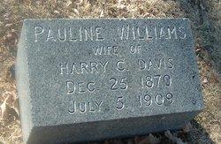 Pauline <I>Williams</I> Davis