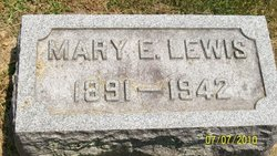Mary Elizabeth <I>Thompson</I> Lewis