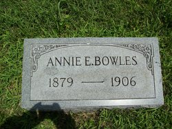 Annie E <I>Taliaferro</I> Bowles