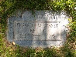 "Elisabeth ""Betty"" <I>Macintosh</I> Conner"