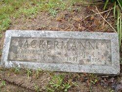 Sadie L Ackerman