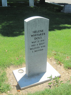 Mrs Helene <I>Whitaker</I> Dols