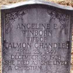 Angeline E <I>Winborn</I> Chandler
