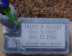 Trudy <I>Baggett</I> Elfert