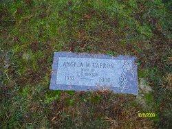 Angela M <I>Capron</I> Benson