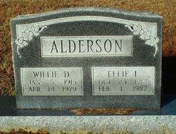Willie Dewell Alderson