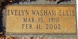 Evelyn Louise <I>Washam</I> Ellis
