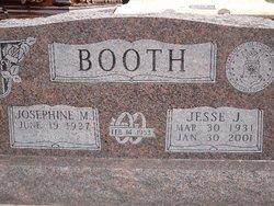 "Josephine ""Josie"" <I>Hillman</I> Booth"