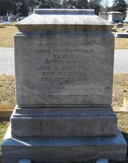 Emma Susan <I>Burch</I> Blackwell