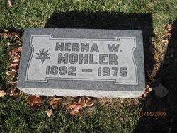 Nerna W Mohler