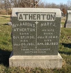 Mary Jane <I>Sanders</I> Atherton