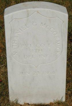 Corp Nathaniel G. McCormick