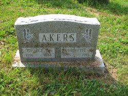 Antoinette M. <I>Musser</I> Akers