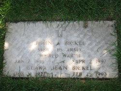 John A Bickel