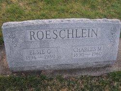 Charles M Roeschlein