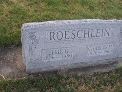 Elsie G <I>Redenbacher</I> Roeschlein
