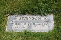 Lillian <I>Barton</I> Swenson