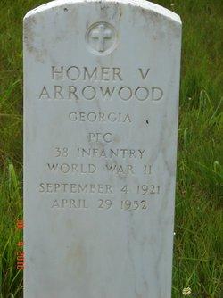 PFC Homer V. Arrowood