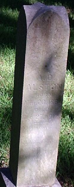 A. D Alston