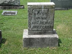 Bessie C. <I>Daugherty</I> Mann