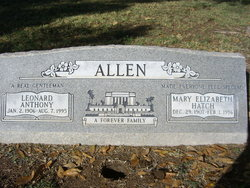 Leonard Anthony Allen