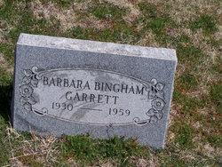 Barbara Louann <I>Bingham</I> Garrett