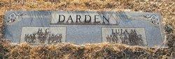 Lula M <I>Hensley</I> Darden