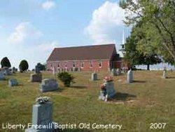 Liberty Freewill Baptist Church Cemetery Old