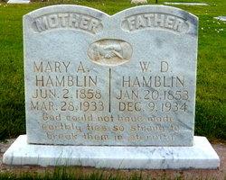 Mary Abigail <I>Mangum</I> Hamblin