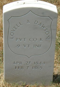 PVT Lovell A. Dawson