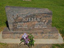 Mary L. <I>Von Olnhausen</I> Nissen