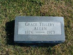 Grace <I>Tillery</I> Allen