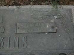 Claudia Nell <I>Tucker</I> Tompkins