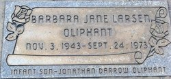 Barbara Jane <I>Larsen</I> Oliphant