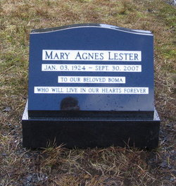 Mary Agnes Lester