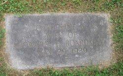 Catherine Augusta <I>Belchor</I> Boardman