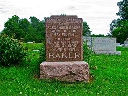 Eliza Ann <I>Ingels</I> Baker