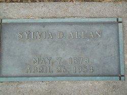 Sylvia M <I>Douglass</I> Allan